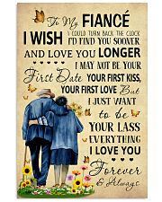 Family To My Fiance I Could Turn Back The Clock 11x17 Poster front