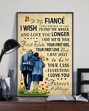 Family To My Fiance I Could Turn Back The Clock 11x17 Poster lifestyle-poster-2