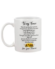 Famlily To My Fiance I Will Always Be There Mug back
