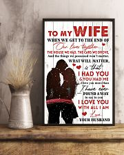 Family To My Wife When We Get To The End 11x17 Poster lifestyle-poster-3