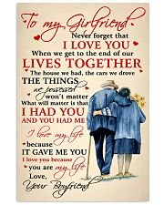 Family To My Girlfriend Lives Together 11x17 Poster front