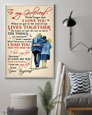 Family To My Girlfriend Lives Together 11x17 Poster lifestyle-poster-1