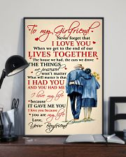 Family To My Girlfriend Lives Together 11x17 Poster lifestyle-poster-2