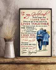 Family To My Girlfriend Lives Together 11x17 Poster lifestyle-poster-3