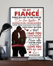 Family To My Fiance When We Get To The End 11x17 Poster lifestyle-poster-2