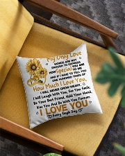 Limited Edition Square Pillowcase aos-pillow-square-front-lifestyle-07