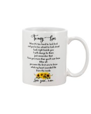 Famlily To My Son I Will Always Be There Mug front