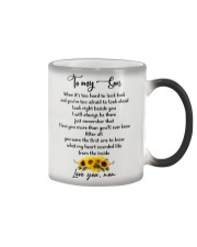Famlily To My Son I Will Always Be There Color Changing Mug thumbnail