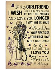 Skull To My Girlfriend Could Turn Back The Clock 11x17 Poster front