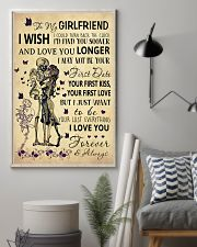 Skull To My Girlfriend Could Turn Back The Clock 11x17 Poster lifestyle-poster-1