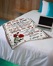"""Limited Edition Small Fleece Blanket - 30"""" x 40"""" aos-coral-fleece-blanket-30x40-lifestyle-front-10"""