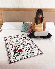"""Limited Edition Small Fleece Blanket - 30"""" x 40"""" aos-coral-fleece-blanket-30x40-lifestyle-front-11"""