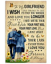 Family To My Girlfriend I Could Turn Back The Cloc 11x17 Poster front