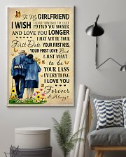 Family To My Girlfriend I Could Turn Back The Cloc 11x17 Poster lifestyle-poster-1