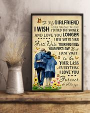 Family To My Girlfriend I Could Turn Back The Cloc 11x17 Poster lifestyle-poster-3