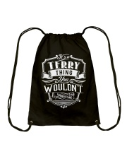 Terry Terry Drawstring Bag thumbnail