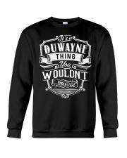 It's A Name - Duwayne Crewneck Sweatshirt thumbnail
