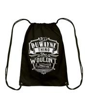 It's A Name - Duwayne Drawstring Bag thumbnail