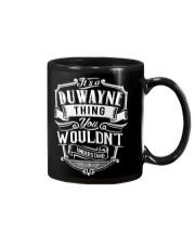 It's A Name - Duwayne Mug thumbnail