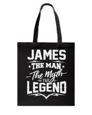 James James Tote Bag thumbnail