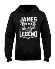 James James Hooded Sweatshirt front
