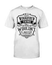 It's A Name Shirts - Winnifred  Classic T-Shirt thumbnail