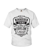 It's A Name Shirts - Winnifred  Youth T-Shirt thumbnail