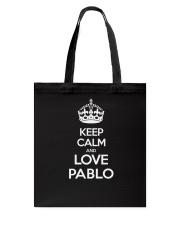 Pablo Pablo Tote Bag thumbnail