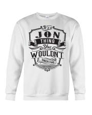 It's A Name Shirts - Jon  Crewneck Sweatshirt thumbnail