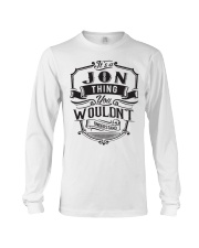 It's A Name Shirts - Jon  Long Sleeve Tee thumbnail