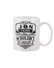 It's A Name Shirts - Jon  Mug thumbnail