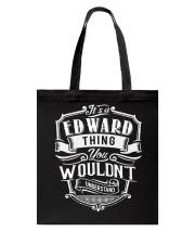 Edward Edward Tote Bag thumbnail