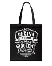 It's A Name - Regina Tote Bag thumbnail
