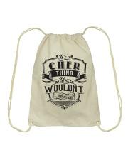 It's A Name Shirts - Cher  Drawstring Bag thumbnail