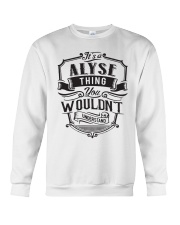 It's A Name Shirts - Alyse  Crewneck Sweatshirt thumbnail