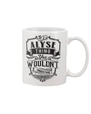 It's A Name Shirts - Alyse  Mug thumbnail