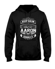 Aaron Aaron Hooded Sweatshirt front