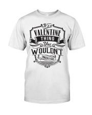 It's A Name Shirts - Valentine  Classic T-Shirt thumbnail