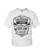 It's A Name Shirts - Valentine  Youth T-Shirt thumbnail