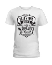 It's A Name Shirts - Valentine  Ladies T-Shirt thumbnail