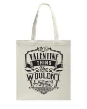 It's A Name Shirts - Valentine  Tote Bag thumbnail