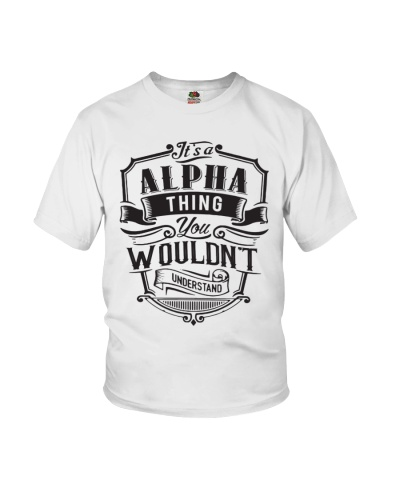 It's A Name Shirts - Alpha