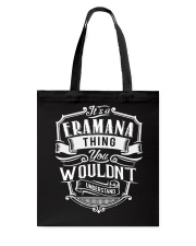 It's A Name - Eramana Tote Bag thumbnail