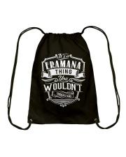It's A Name - Eramana Drawstring Bag thumbnail