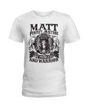 Perfect Mixture - Matt Ladies T-Shirt thumbnail
