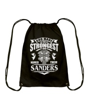 God Made The Strongest - Sanders Drawstring Bag thumbnail