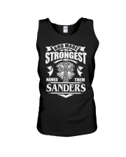 God Made The Strongest - Sanders Unisex Tank thumbnail