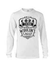 It's A Name Shirts - Cora  Long Sleeve Tee thumbnail