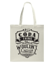 It's A Name Shirts - Cora  Tote Bag tile