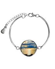 Sunrise Metallic Circle Bracelet thumbnail